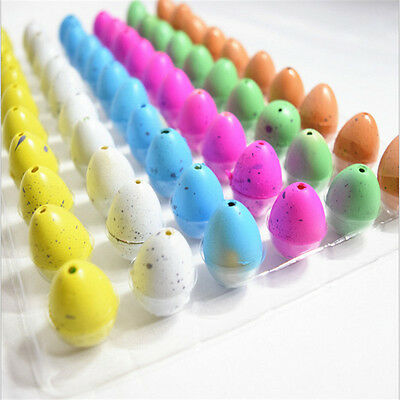 hot 5pcs Cute Magic Growing Dino Egg Add Water Hatching Dinosaur Egg Toys Sales