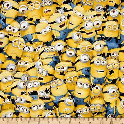 Medical_surgical_scrub hat_cap_ packed minions yellow Kevin Bob Stuart fun ties