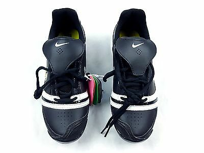 Nike Womens Softball Cleats Black White Size 6.5
