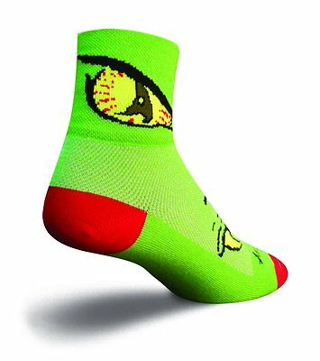 (TG. Grande/X-Large) Sockguy Calze classiche Multicolore Monster Grande/X-Large