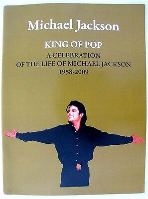 "Michael Jackson Funeral Program ""A Celebration of the Life of Michael Jackson"""