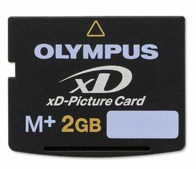 Olympus 2GB 2 G GB Type M Plus M+ xD Picture Card Fuji Fujifilm in Sydney