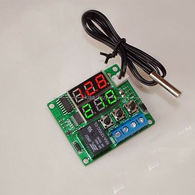 -20-100°C 12V heat cool temp thermostat switch temperature controller +sensor