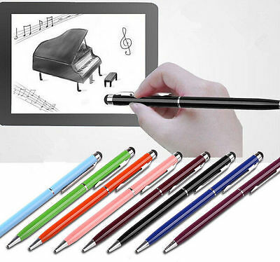 13Color Metal Universal Stylus Touch Pen For Iphone Android Ipad HTC PC Pen 2016