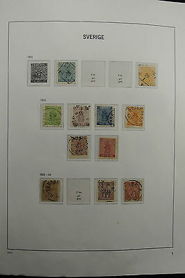 Lot 26309 Collection stamps of Sweden 1855-1994.
