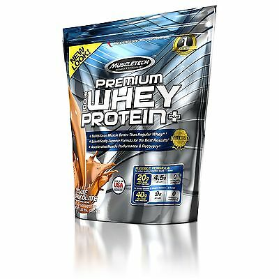 Muscletech 100 % Premium Whey Protein 2.72Kg Chocolate 68 Serv Tracked Posting