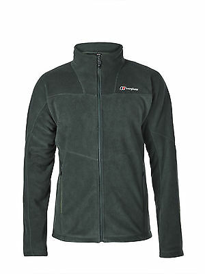 Berghaus NEW Carp Fishing Mens Prism 2.0 Micro Fleece Jacket Deep Forest