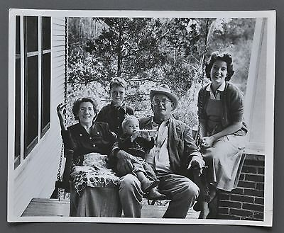 Guy Gillette Vintage Silver Gelatin Photo Print 25x20cm An American Family 1955