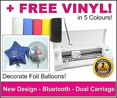 Decorate Foil Balloons. Silhouette Cameo Vinyl Cutting Machine, Plotter, Cutter