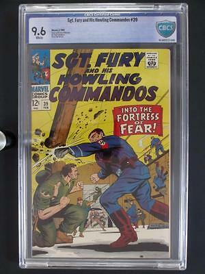 Sgt. Fury and His Howling Commandos #39 -NEAR MINT- CBCS 9.6 NM+ Marvel 1967!!!