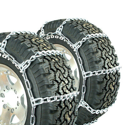 Titan Truck Mud and Snow Off Road Link Tire Chains 8mm 265/70R16