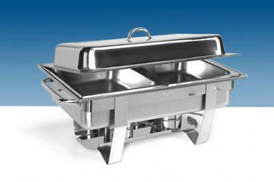 Chafing Dish Buffet Food warmer Stainless steel incl. 2x GN 1/2 container Saro