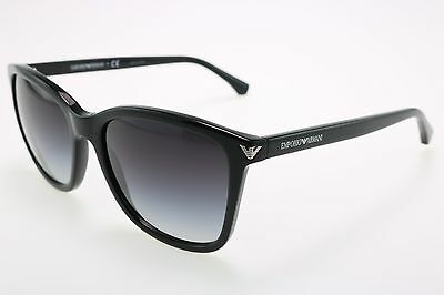 Emporio Armani Sunglasses EA4060 5017/8G Black W/ Grey Gradient