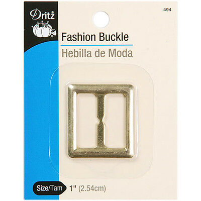 """""""Fashion Buckle 1""""""""-Gold, Set Of 3"""""""
