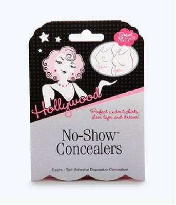 No Show Concealers 5 pairs Hollywood Fashion secret no 5