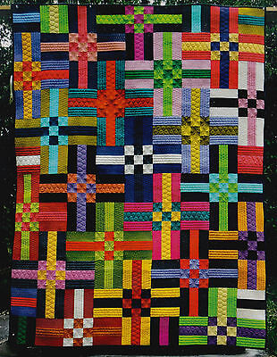 Colors - quick & easy pieced quilt PATTERN - Nellie's Needle