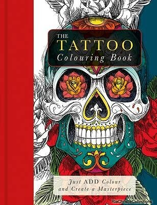 Tattoo Colouring Book Beverley Lawson New Paperback Free UK Post