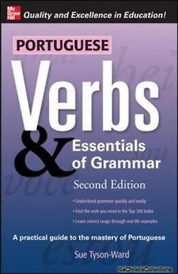 Portuguese Verbs and Essentials of Grammar Sue Tyson-Ward Paperback New Book Fre