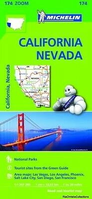 California Nevada Zoom Map 174 Sheet map folded New Book Free UK Delivery