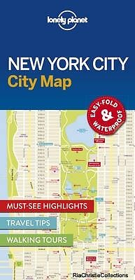 Lonely Planet New York City Map Lonely Planet Sheet map New Book Free UK Deliver