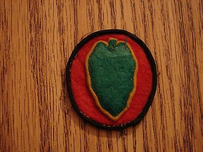 Original 1920s-30s  US Army HAWAIIAN  Division Wool Shoulder Patch