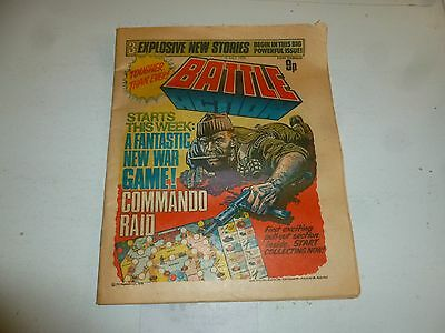 BATTLE ACTION Comic - Date 15/07/1978 - UK Paper Comic
