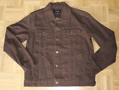 """Brixton Jacke """"Cable"""",washed brown, Gr. M"""