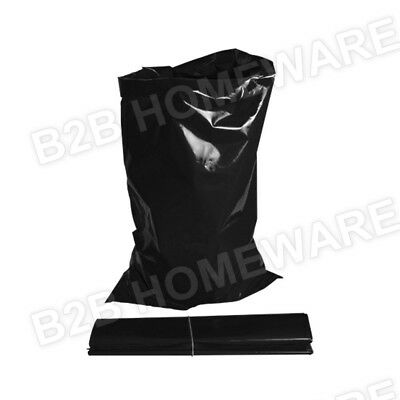 10 X Extra Large Black Builders Rubble Waste Sacks Bags Heavy Duty Garden Refuse