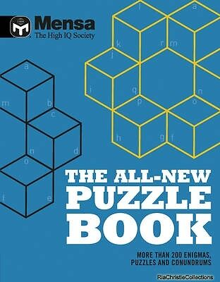Mensa The All-New Puzzle Book Mensa New Paperback Free UK Post