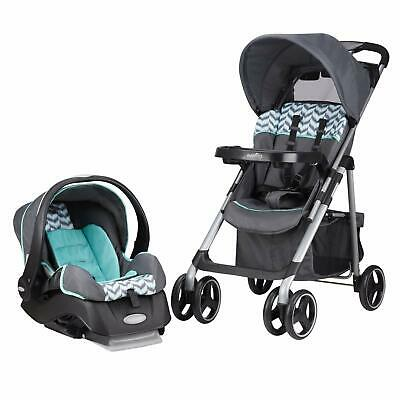 Stroller Infant Car Seat Set Baby Boy Girl Toddler Safety Travel System Folding