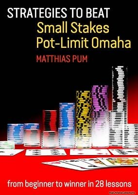 Strategies to Beat Small Stakes Pot-Limit Omaha Paperback New Book Free UK Deliv