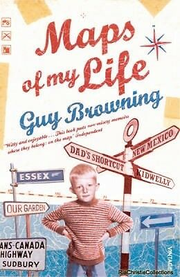 Maps of My Life Guy Browning New Paperback Free UK Post