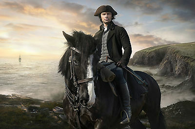 Aidan Turner Poldark Poster Image Photograph Bbc Series Actor