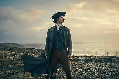 Aidan Turner Poldark Poster Image Photograph Bbc Series Actor Cornwall