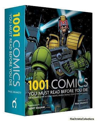 1001 Comics You Must Read Before You Die Cassell Illustrated Paul Gravett