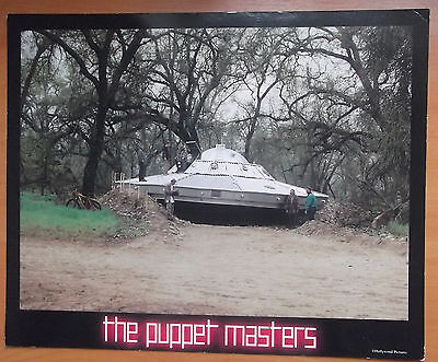 Puppet Masters, Original Lobby Card, Donald Sutherland, Eric Thal, '94