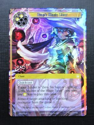 Force of Will Cards: ZERO'S MAGIC LIGHT FOIL # 18G74