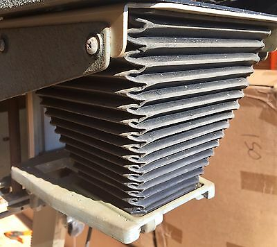 Super Omega Enlarger Chromega 4X5 Lamphouse Dichroic Color Head Bellows Assembly