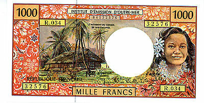 French Pacific Territories… P-2g … 1000 Francs… ND(1996) … *UNC*
