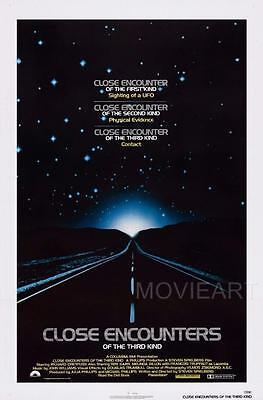 Close Encounters Of The Third Kind Movie Poster Film A4 A3 Art Print Cinema