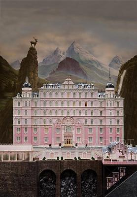 The Grand Budapest Hotel Textless Movie Poster Film A4 A3 Art Print Cinema