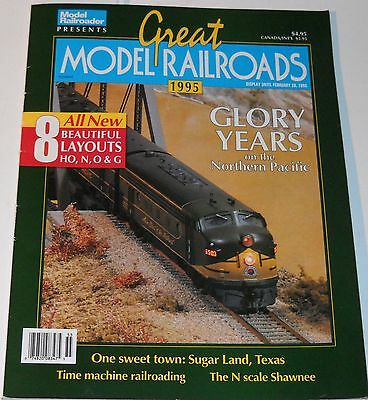 Great Model Railroads Magazine 1995 Glory Years on the Northern Pacific