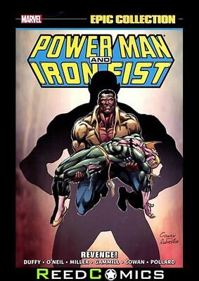 POWER MAN AND IRON FIST EPIC COLLECTION REVENGE GRAPHIC NOVEL (472 Pages)