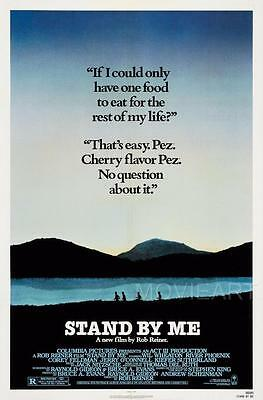 Stand By Me Quote Movie Poster Film A4 A3 Art Print Cinema