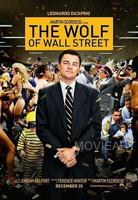 The Wolf Of Wall Street Movie Poster Film A4 A3 Art Print Cinema