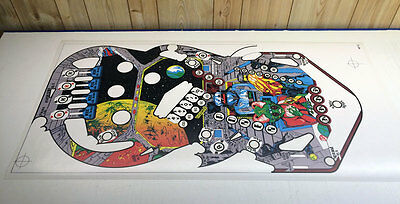 WILLIAMS ALIEN POKER Pinball Machine Playfield Overlay MADE FROM WILLIAMS FILMS