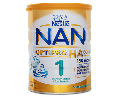 Nestlé NAN OPTIPRO HA Gold 1 Premium Starter Infant Formula 800g