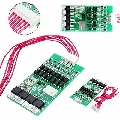 7S 24V 20A Li-ion Lithium Cell Battery Protection Board 7 Packs BMS PCB Balance
