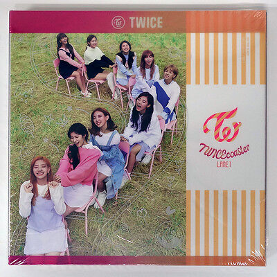 TWICE - TWICEcoaster [Apricot A ver.] CD+Limited 9 Photocards+Poster+Free Gift