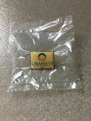 Barack Obama official 2008 Presidential campaign lapel pin button